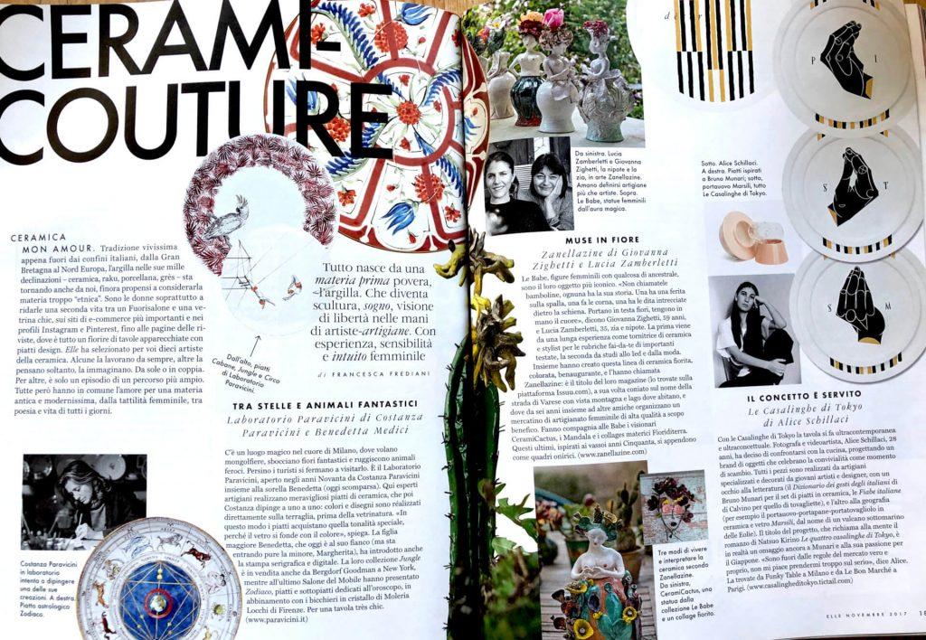 Elle Italia Novembre 2017 - Zanellazine