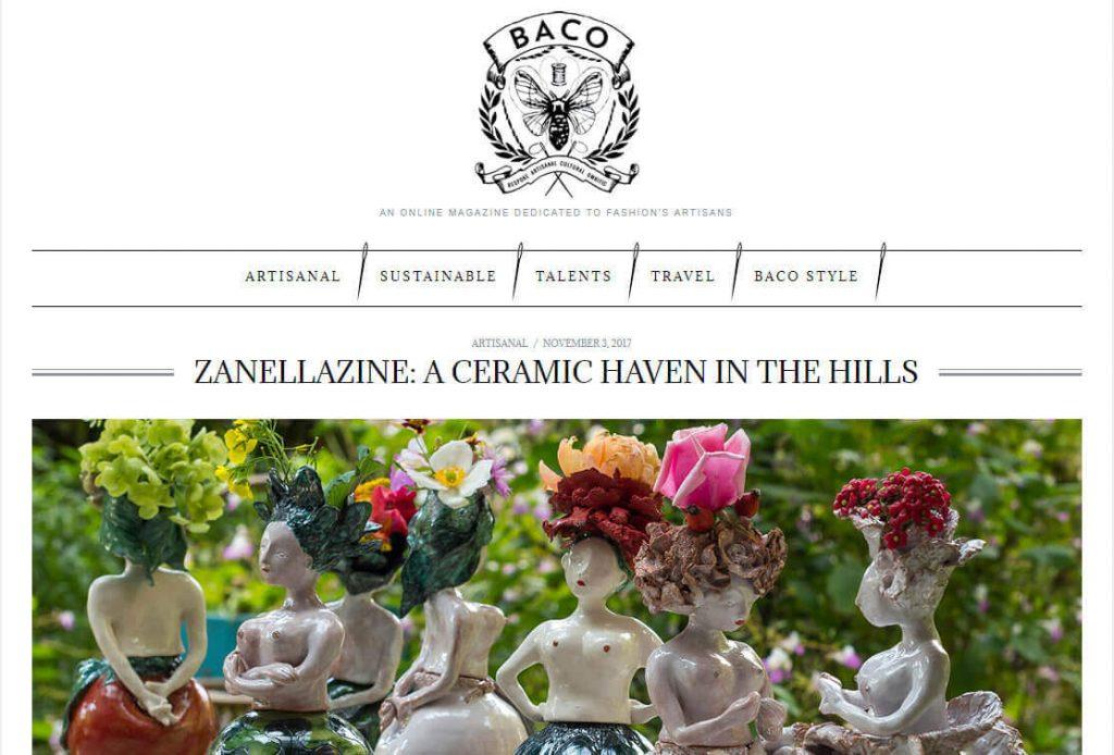 Baco Luxury Novembre 2017 - Articolo Zanellazine